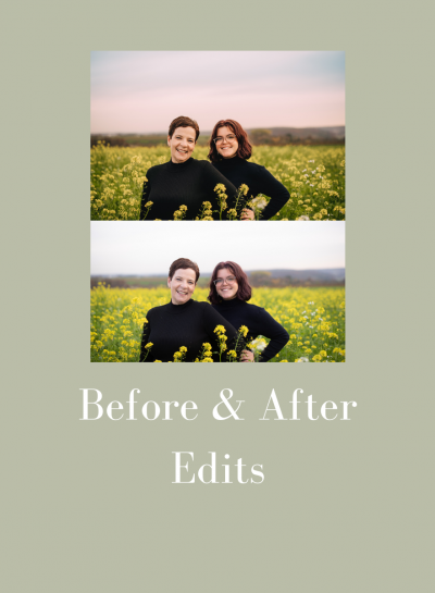 Before and After Edits