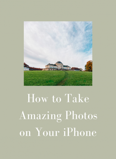 How to Take Amazing Photos on Your iPhone!