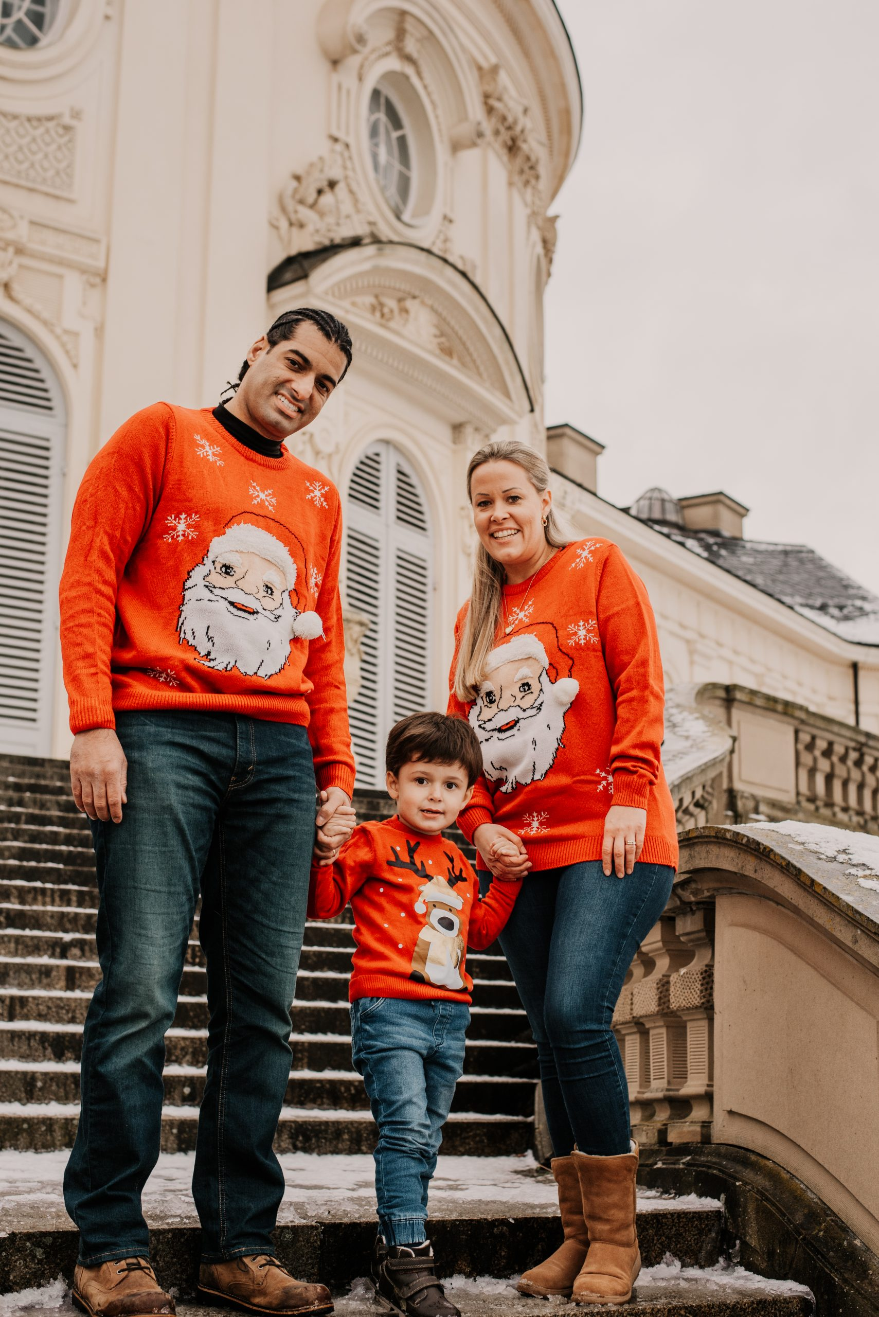 Family Session at Schloss Solitude