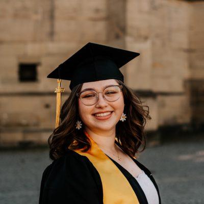 Graduation Portraits in Stuttgart City